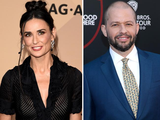 """Jon Cryer admitted he was nervous to meet his former """"Two-and-a-Half Men"""" costar Ashton Kutcher for the first time. Why? Because he dated Kutcher's ex-wife Demi Moore. Cryer revealed in his new memoir """"So That Happened,"""" that he dated Moore after they starred in the 1984 flick """"No Small Affair."""" Picture: Jason Merritt/Getty Images"""