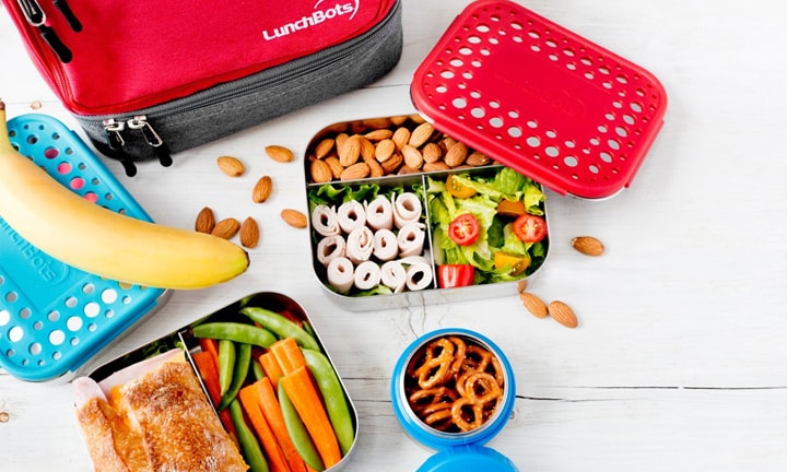 "<p><b>LunchBots – RRP Duo from $34.95</b></p>  <p><b>Pros:</b> Stainless steel is felt to be a healthier, sturdier lunch box material than plastic. The LunchBot is lightweight and marketed to ""last a lifetime"" with proper care. You can get insulated LunchBots to pack a hot lunch or leak proof versions to pack things like yoghurt and dips.</p>  <p><b>Cons:</b> Not all of the lunch boxes are leak-proof, so choose carefully. The lunch boxes have a relatively small capacity, so additional snack boxes will most likely be required.</p>  <p>Erica, mum to one toddler, say, ""LunchBot is a huge hit with Mr 2. I pack my son's food all separated into each little compartment, like a mini lunch buffet. Not only do I avoid missing plastic container lids and tubs, but the stainless steel LunchBot is much easier and quicker to clean. Win-win.""</p>"