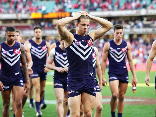 The season can't end soon enough for the Dockers.