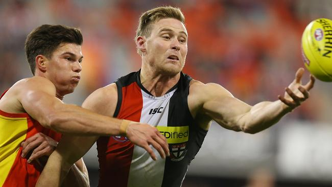 David Armitage was one of St Kilda's best in the loss.