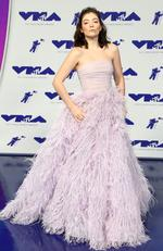 Lorde attends the 2017 MTV Video Music Awards at The Forum on August 27, 2017 in Inglewood, California. Picture: AFP