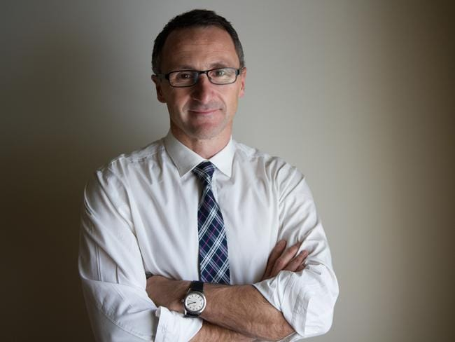 Need for a federal anti-corruption body ... Greens leader Richard Di Natale.