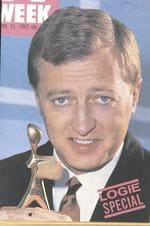 "Winner of the Gold Logie Award 1960. Comedian TV presenter Graham Kennedy, ''In Melbourne tonight"", GTV 9"