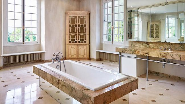 One of the nine bathrooms in the home. Picture: TopTenRealEstate.