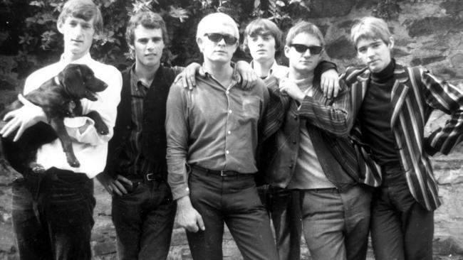 Original 1960s adelaide rock band masters apprentices reunite to the masters apprentices in the 1960s from left mick bower rick morrison graham longley gavin webb brian vaughton and jim keays malvernweather Gallery