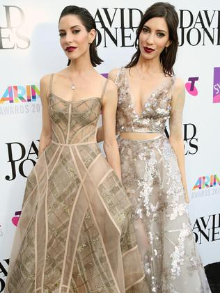 The Veronicas aka Jess and Lisa Origliasso. Picture: Richard Dobson