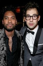 Miguel and Jack Antonoff attend Sony Music Entertainment 2016 Post-Grammy Reception on February 15, 2016 in Los Angeles. Picture: Getty