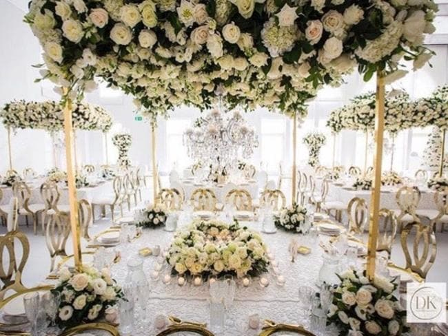 And this is how you spend thousands and thousands on flowers. Picture: Diane Koury Weddings and Events / Instagram