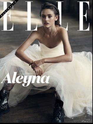 The winning shot of Aleyna will be featured on Elle.