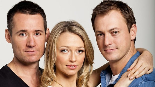 Tom Wren, Zoe Tuckwell-Smith and Blair McDonough, from Winners and Losers. Picture: Supplied