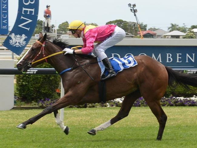 Pegapus meets Plucky Girl 4kg better from last start. Picture: Grant Peters, Trackside Photography