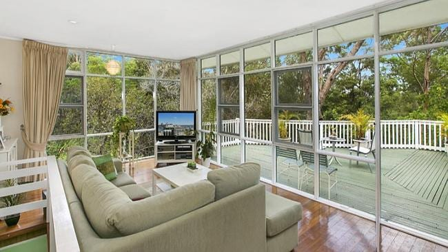 Peaceful views at 184 Fox Valley Rd, Wahroonga