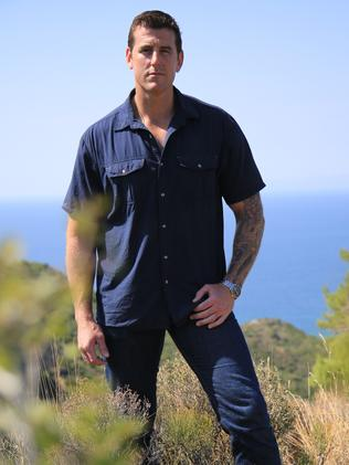 Ben Roberts-Smith hosted his own big-budget Gallipoli special for Channel 7. Picture: Channel Seven