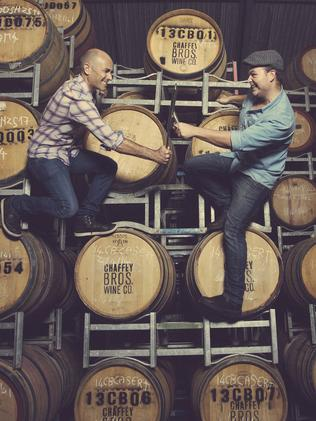 Daniel Chaffey Hartwig and Theo Engela are the Chaffey Bros. Wine Company