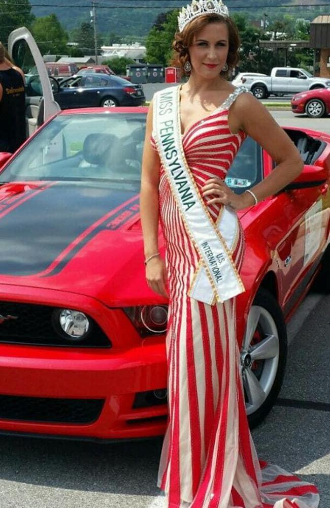 Beauty queen Brandi Lee Weaver-Gates faked cancer. Pic: FB/Brandi Weaver-Gates