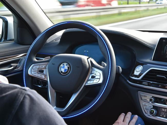 BMW's autonomous vehicle