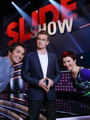 Denyer also hosted  <i>Slide Show </i>for Seven after quitting  <i>Sunrise</i>.