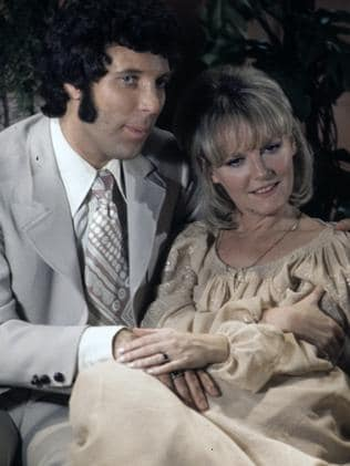 Petula Clark with another ladies man, Tom Jones. Picture: Getty