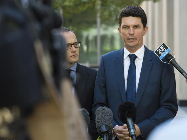 Scott Ludlum resigned last week. Picture: AP