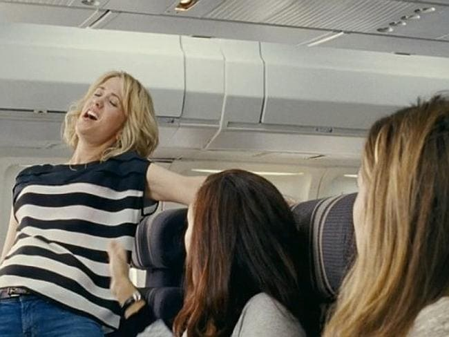 No one likes a singer, no matter how good you think your voice is. Picture: Bridesmaids