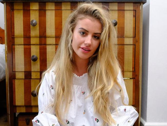 Back home … Chloe Ayling. Picture: Chris Eades/The Sun