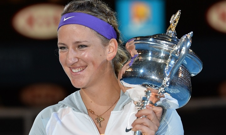 Aussie Open champion & mum Victoria Azarenka trolled over photo of son