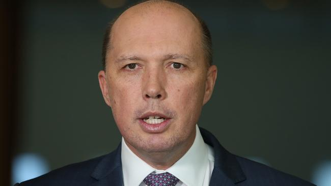 Immigration Minister Peter Dutton. Picture: Kym Smith
