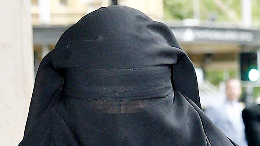 Last month Moutia Elzahed was charged with contempt after refusing to stand or remove her veil when giving evidence in court.