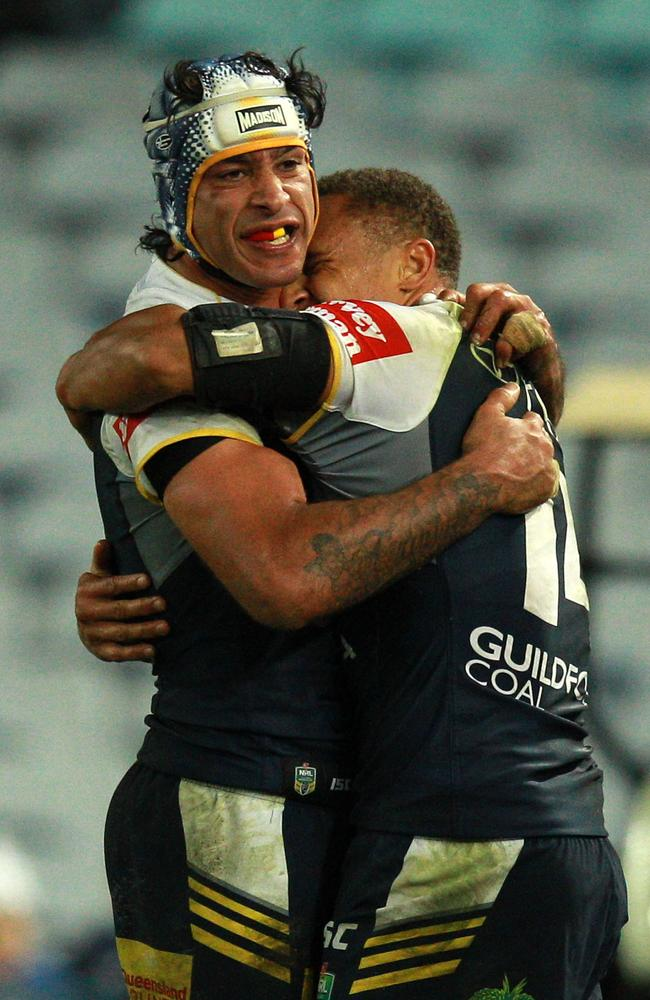 Johnathan Thurston's Cowboys are fighting for a finals position.