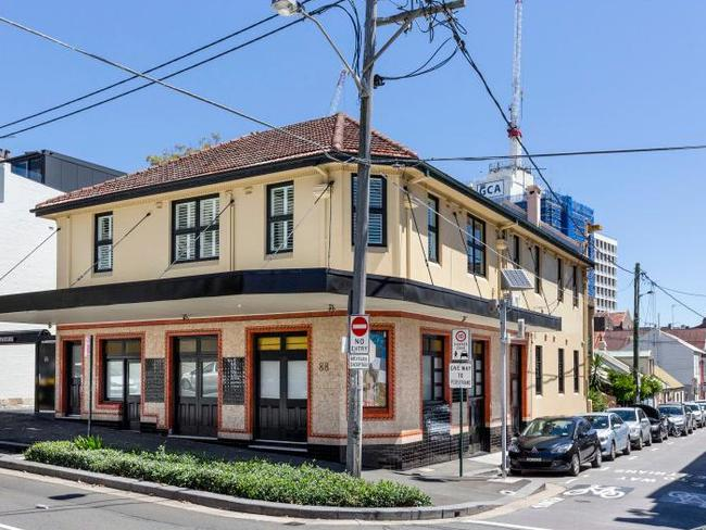 88 George Street Redfern broke a price record when it sold for $4.4 million over the weekend. Picture: BresicWhitney