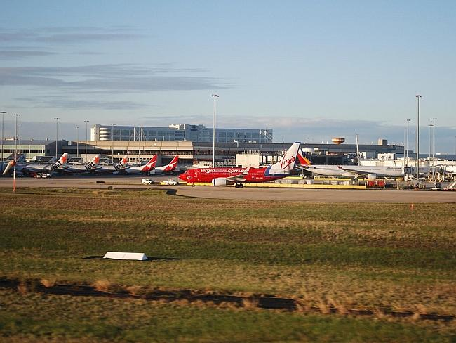 Melbourne airport. Picture: avlxyz.