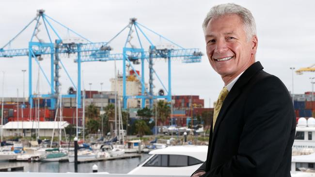 Flinders Ports chief executive Vincent Tremaine.