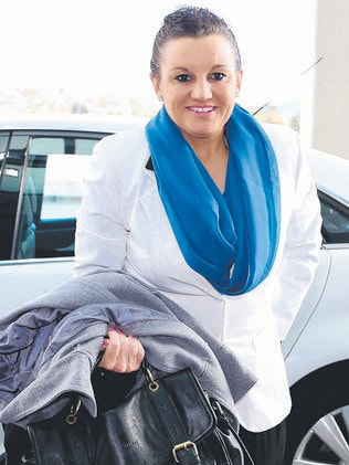 Unmarried mother of two ... Senator Jacqui Lambie.