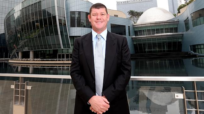 Crown boss James Packer.