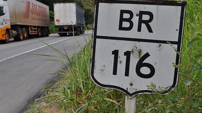 Trade and misery: Brazil's BR-116 highway. Picture: Matt Roper.