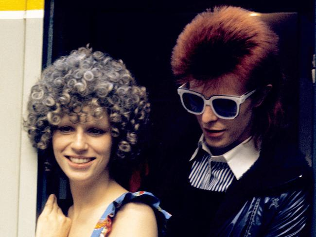 David Bowie and Angie Bowie divorced in 1980.