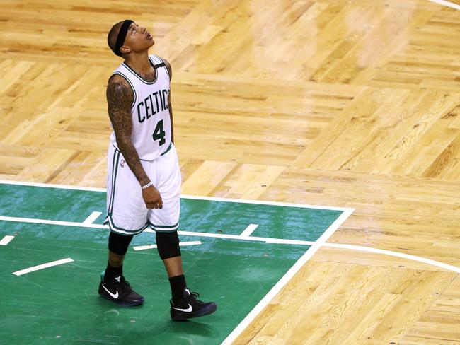 Isaiah Thomas struggled with his shot, but the Boston Celtics were still good enough to topple the Bulls. Picture: Getty Images/AFP