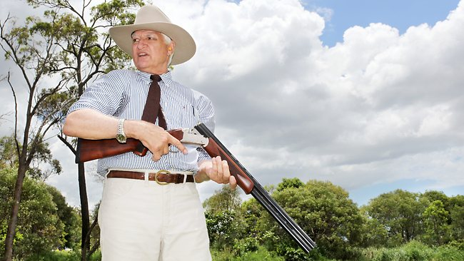 Katter Calls For Changes To Gun Laws At Australian Party