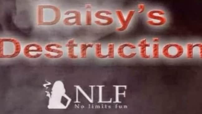The title page of Peter Scully's most depraved video, Daisy's Destruction on his Dark Web 'No Limits Fun' channel shocked police.