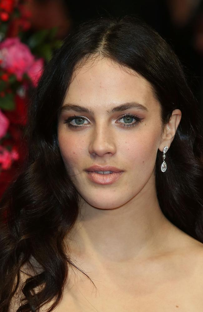 Stolen sex tape ... Actress Jessica Brown Findlay. Picture: Getty