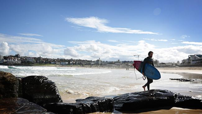 Bondi living ... almost 32.5 million people visited the NSW capital in 2013-14. Picture: Adam Yip