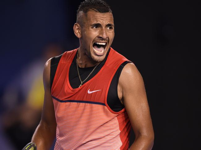 Kyrgios' tournament is over.