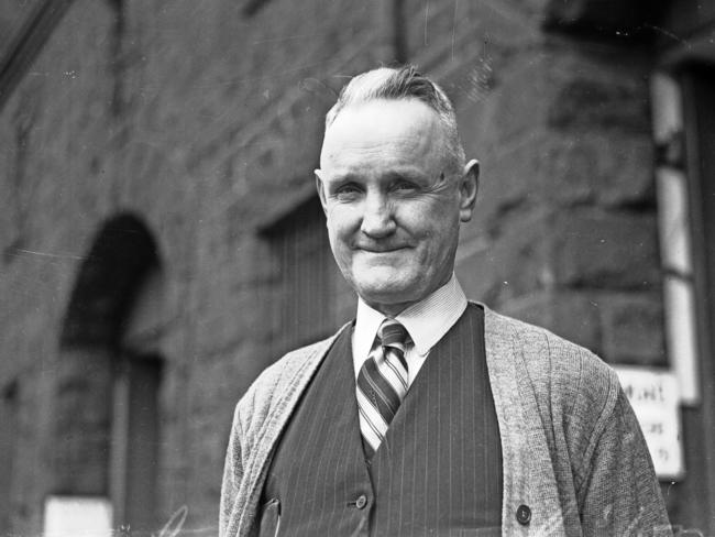 Collingwood coach Jock McHale worked at the Carlton brewery.
