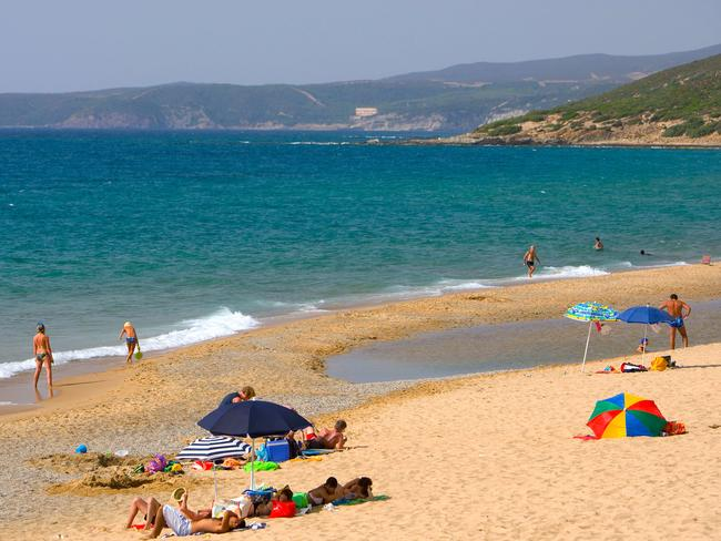 If you can get over the town name, Piscinas is actually a lovely place to visit.