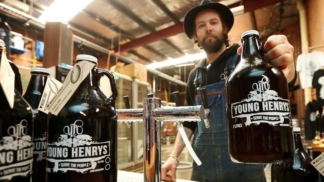 Young Henry's brewery in Sydney's Newtown is open on Good Friday.