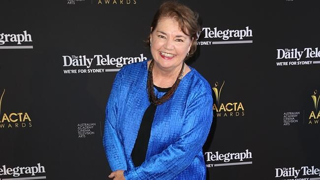 Drynan on the AACTA Awards red carpet last month.