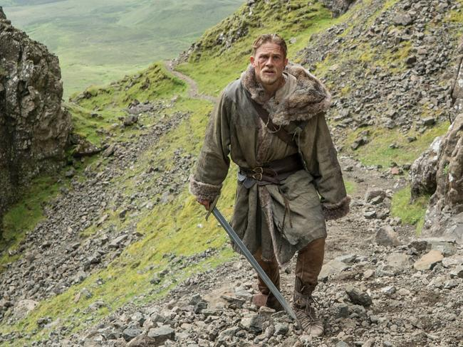 Charlie Hunnam has a difficult path to follow in Legend of the Sword.