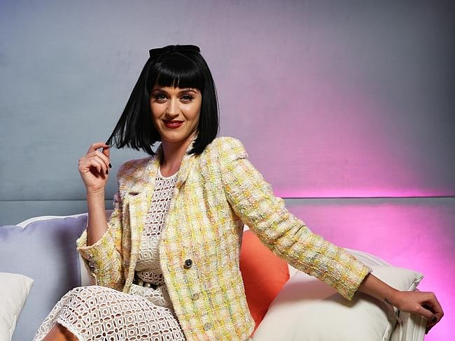 Queen of Pop...Katy Perry says its all about being authentic with her fans. Picture: Brett Costello