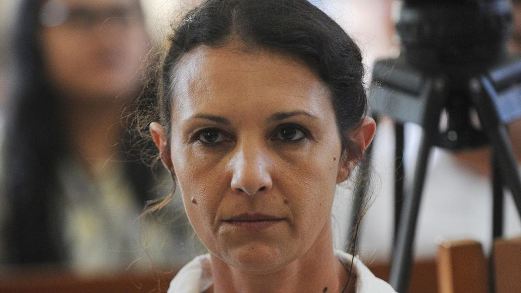 Sara Connor won't appeal her four-year prison term. Picture: AFP