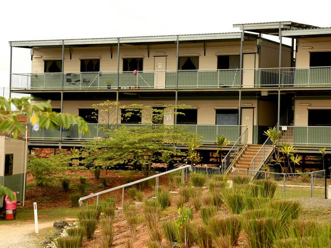 The controversial detention centre is reportedly being looted by locals. Picture: News Corp Australia